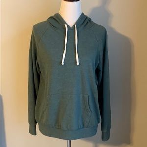 Green Forever 21 Hoodie